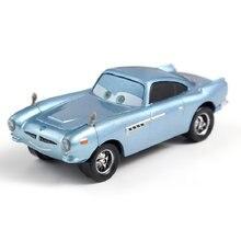 Voitures Disney Pixar Finn McMissile en métal moulé, jouet, échelle 1:55, flambant neuf, Disney Cars2 et Cars3, en Stock