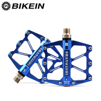 BIKEIN Cycling Bicycle BMX CNC Flat Pedal Anti Slip Platform Pedals MTB Pedal 4 Sealed Bearing Pedals Mountain Bike Accessories|pedal mtb|bearing pedal|pedals mountain bike -