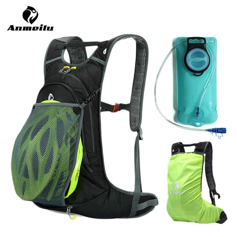 ANMEILU 20L BOLSA DE AGUA + cubierta de lluvia mochila de ciclismo mujeres hombres escalada Camping senderismo bolsa hidratación mochila