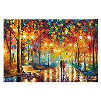 NEW DIY 3D Diamond Painting Colorful World Abstract Oil Paint Full Square Drill Decor Embroidery Series