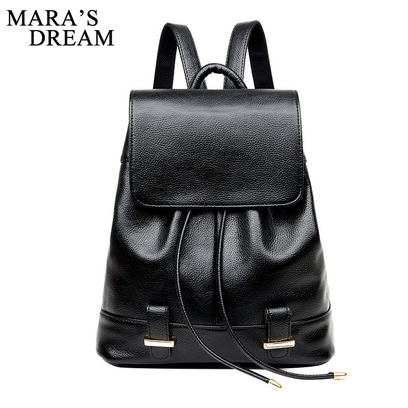 Maras Dream Womens Drawstring PU Leather Backpack School bags Teenage Girls Backpacks For Women High Quality Ladies BagpackMaras Dream Womens Drawstring PU Leather Backpack School bags Teenage Girls Backpacks For Women High Quality Ladies Bagpack