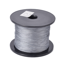 500m/Roll Gray Multifilament Fishing Line Super Power Backing Line 100% Fly Fishing Material Spectra Braided Fishing Line