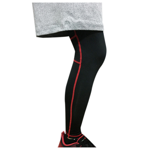 Unisex Running Basketball Sports Compression Knee Leg Calf Support Stretch Brace Long Sleeve Protector Wrap
