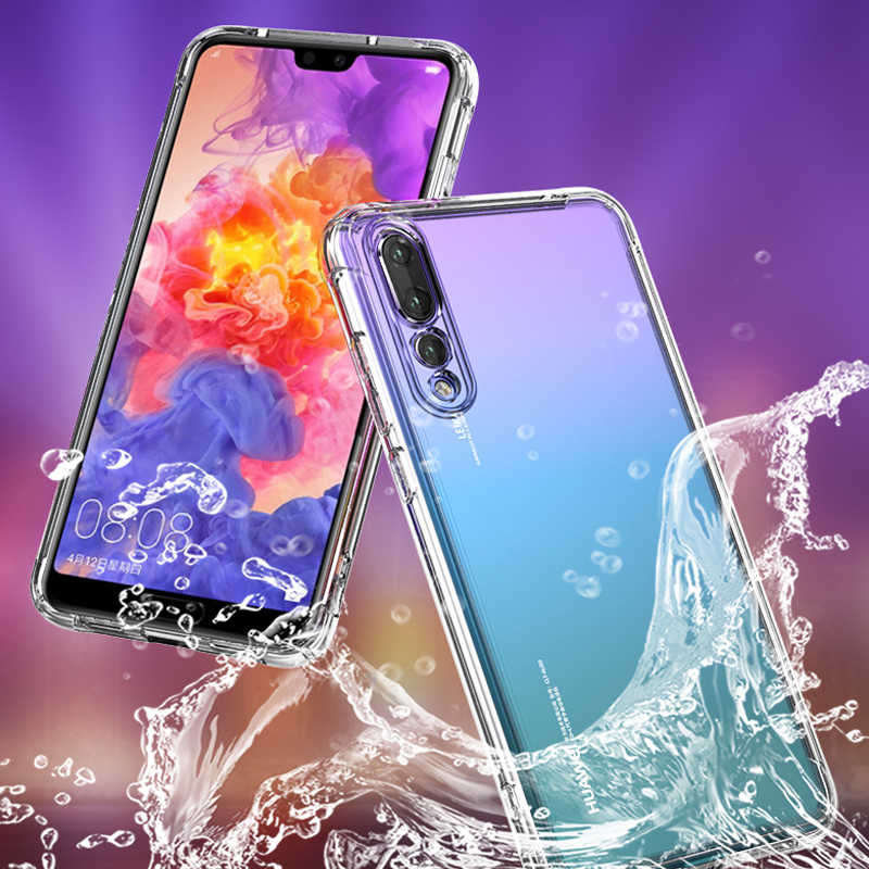 Anti-knock TPU Silicone Soft Cases For Huawei P20 Lite Pro Nova 3i Mate 10 Pro 20 Lite Transparent Cover Coque For Honor 8X Max