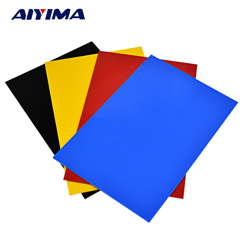 1Pc 200*300*3mm Acrylic Color Plastic Sheet Organic Glass Polymethyl ...