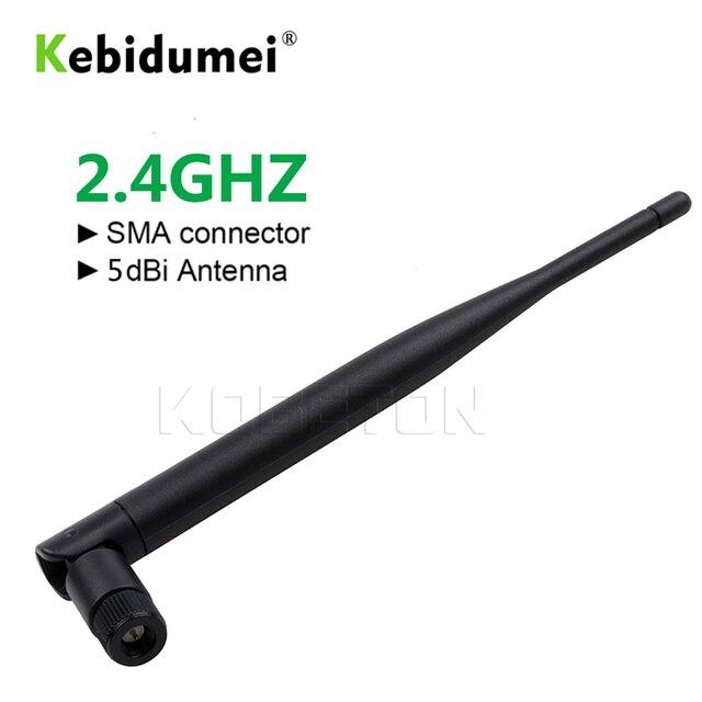Kebidumei 2.4 ghz 5dBi 802.11b/g אווירי SMA זכר אלחוטי נתב WiFi אנטנה עבור Mini PCI U. FL IPX RP-SMA זכר צמת כבל