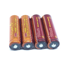 10PCS/LOT Trustfire IMR 14500 3.7V 700mAh Rechargeable Battery Li-ion Lithium High Drain Batteries For Led flashlights стоимость