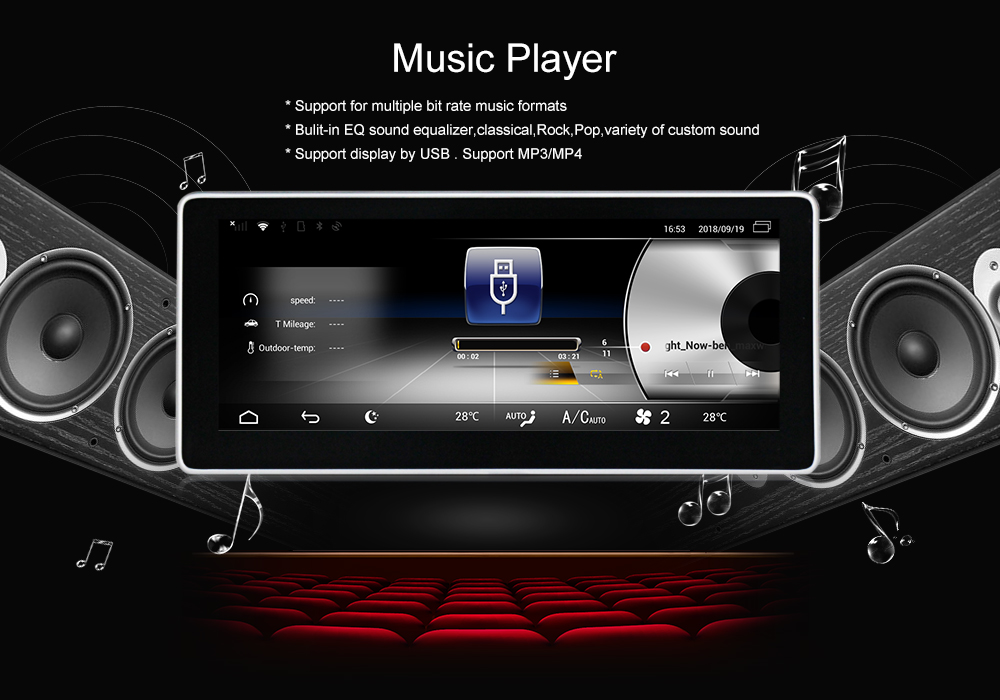 Perfect New arrival!android7.1 Car stereo head unit navigation GPS NAVI DVD player for Benz GLE 2012-2018 support 4G wifi BT free map 30