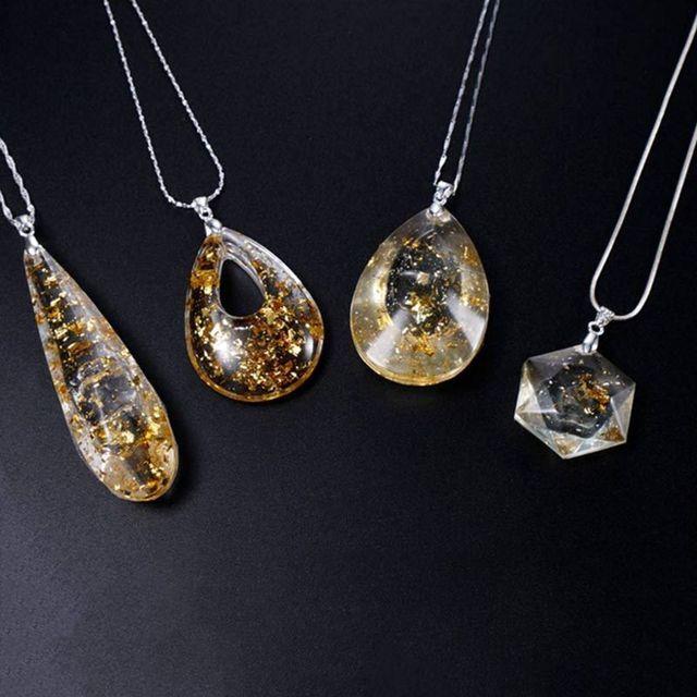 df3ffa1d8ccb Molde de silicona sólido DIY joyería que hace colgante resina epoxi cristal  collar pulsera pendientes geométricos 3D decoración artesanías