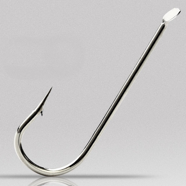 US $27 88 20% OFF|1000pcs Fishing Hook Long Handle Fishhook High Carbon  Steel Hook Saltwater Fishing Tackle Pesca-in Fishhooks from Sports &