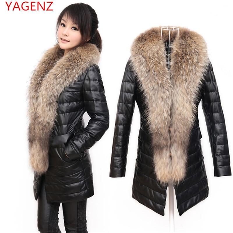 En Femmes Féminin Black Nouvelles taille 4xl Plus Veste Col Manteau De Imitation Épaississent Fourrure Cuir Pu 2018 D'hiver Haut Corée xwqxHYp6