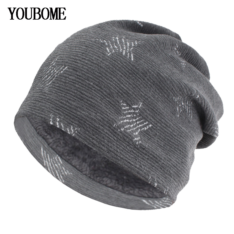 new concept cea59 29f23 Details about AKIZON Fashion Knitted Hat Women Skullies Beanies Winter Hats  For Men Mask