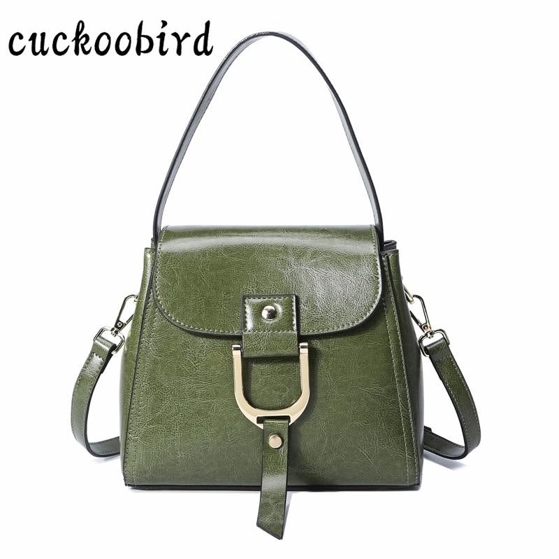 Genuine Leather Handbag for Women High Quality Cow Leather Women Bag Solid Female Shoulder Bags Large Capacity Crossbody Bag цена