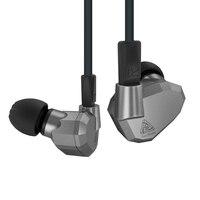 Latest Original KZ ZS5 2DD+2BA Hybrid In Ear Earphone HIFI DJ Monito Running Sport Earphone Earplug Headset Earbud VS KZ ZST ZS1