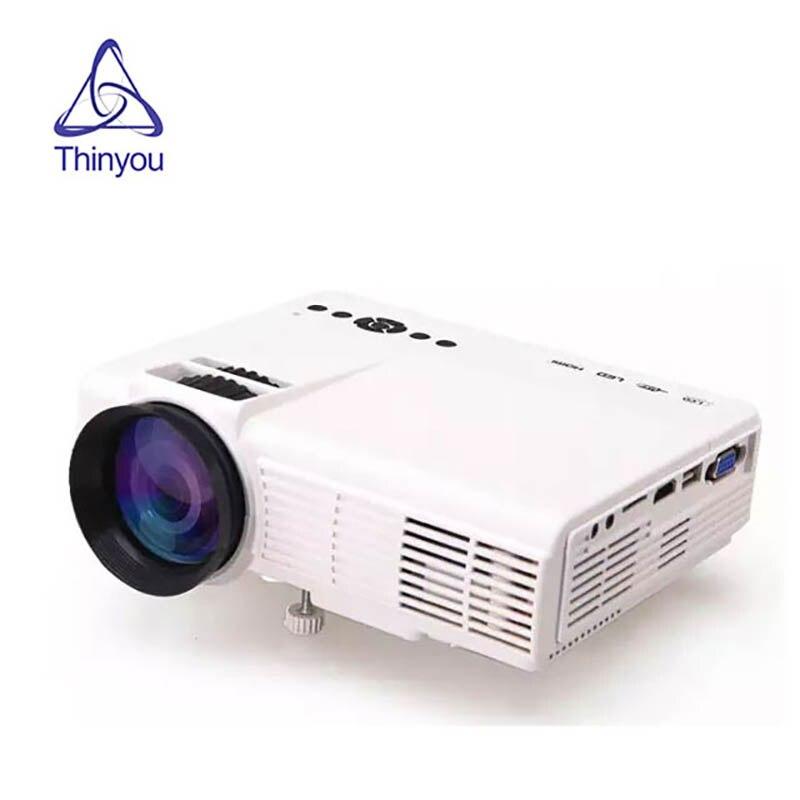 Przenośny projektor led HD Mini Android Wifi Bluetooth inteligentne kino domowe film Media odtwarzacz wideo Beamer Proyector
