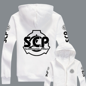 Image 3 - New Hoodies Men Women for Anime SCP Foundation Design Hoodie for Unisex Jacket Hooded Sweatshirt