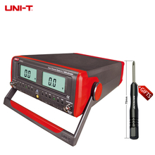 Buy online DHL Free Shipping UNI-T UT632 Dual-Channel Digital Display AC Millivolts Meter