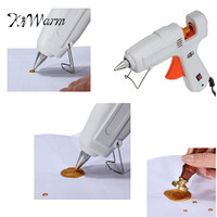 Kiwarm Plastic Wax Seal Stamp Melting Glue Gun For Sealing Wax Stamps Envelope DIY Mini Glue
