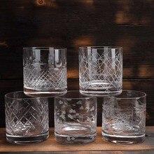 2 шт старомодные стаканы для виски, отлично подходят для коктейлей Бурбон Рокс стеклянная посуда 380 мл барная посуда упаковка из 2