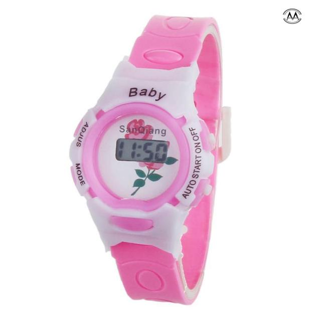 Colorful Boys Girls Students Time Electronic Digital Wrist Sport Watch Children