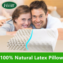 Free Shipping + 100% Natural Latex Pillow From Thailand  Massage Pillow Cervical Health Care Beauty  Pillow