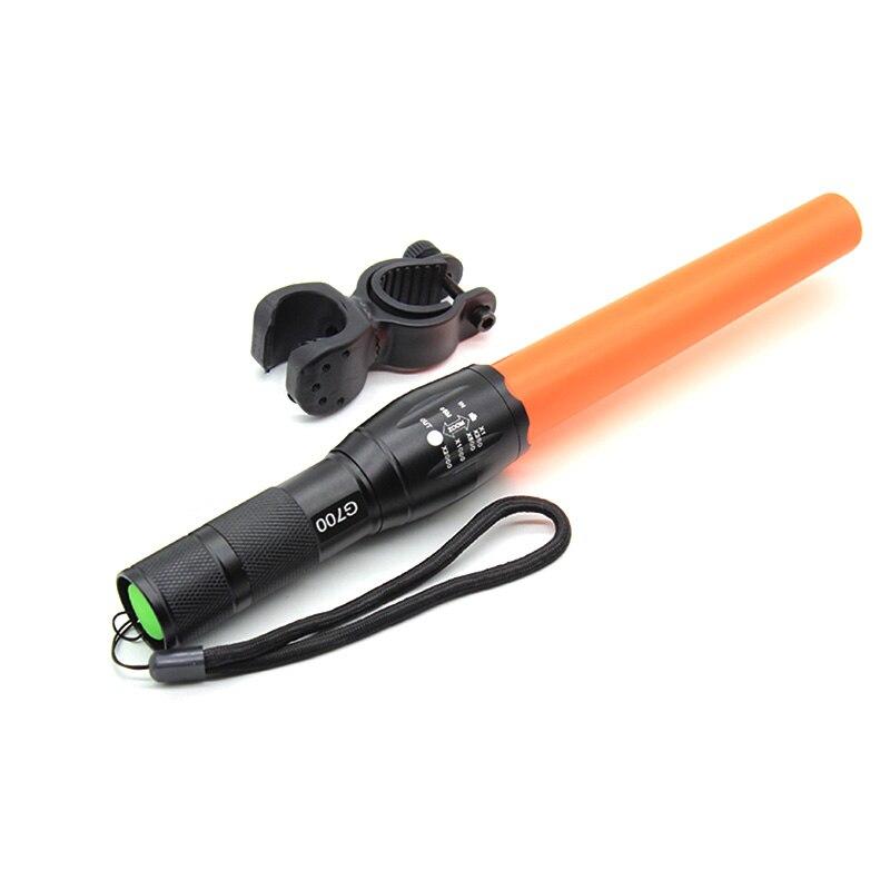 Lanternas e Lanternas + carregador + baton vermelho à Prova D'água : Sim