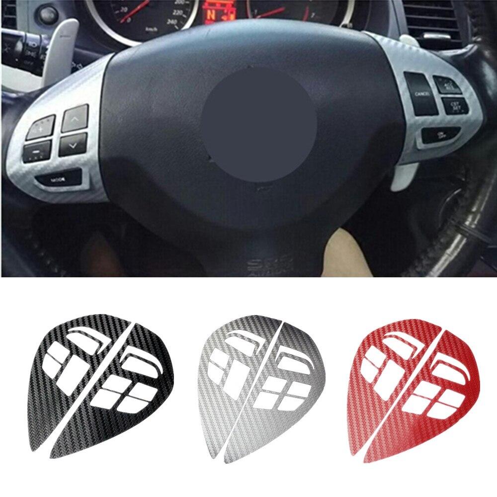 Trim Steering-Wheel Pajero Outlander Lancer Sport Mitsubishi Asx Cover Sticker Audio