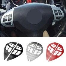 Кнопка включения рулевого колеса, Кнопка Аудио круиз-контроля, наклейка, Накладка для Mitsubishi ASX Lancer Outlander RVR Pajero Sport