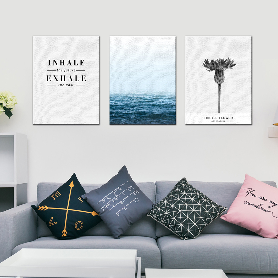 Ins Northern Europe Style Modern Poster Living Room 2530