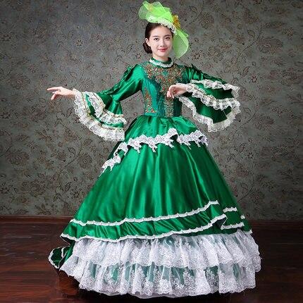 Femmes Renaissance victorienne médiévale gothique longues robes pour Halloween robes de bal Costumes robes gothiques Lolita