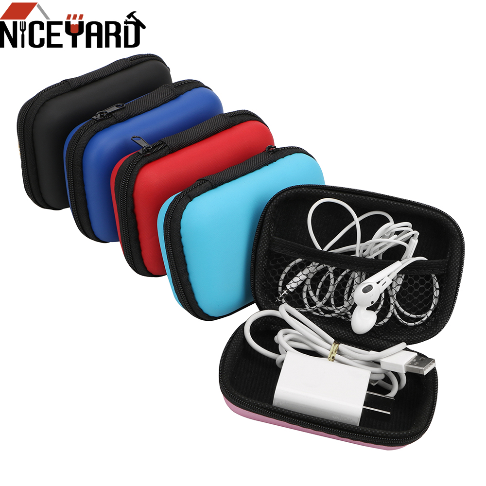 Earphone Bag For USB Cable Earphone Digital Storage Bag Universal Electronics Accessories Organizer Travel Kit Case Pouch