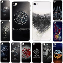 The game of the thrones Hard phone Cover case for iPhone 5 5S 6 6s 7 8 plus X XR XS 11 Pro Max(China)
