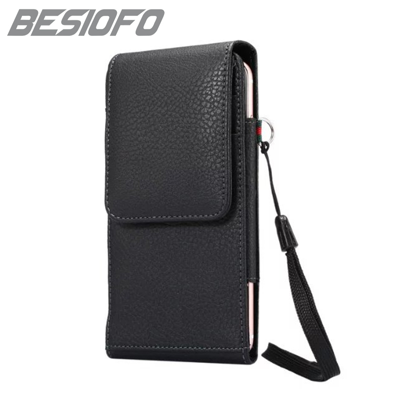 With Clip Waist Pouch Phone <font><b>Case</b></font> <font><b>For</b></font> <font><b>Lenovo</b></font> K8 K8 Plus S8 <font><b>S920</b></font> Mini 360 Degree Rotation Design Holster Bag Vertical Cover image