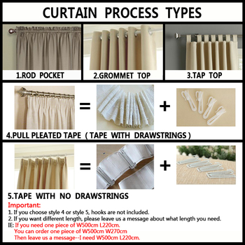 Luxury fashion style semi-blackout curtains kitchen curtains window living room living room curtain panel jacquard fabrics door 1