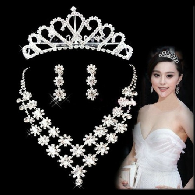 Bling Wedding Accessories Sets Silver Plated African Beads Cheap Crown Bridal Accessories Online 2016 Cappelli Da Sposa