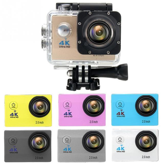 339afed60a7 Waterproof 4K SJ9000 Wifi HD 1080P Ultra Sports Action Camera DVR Cam  Camcorder Pink Yellow Blue