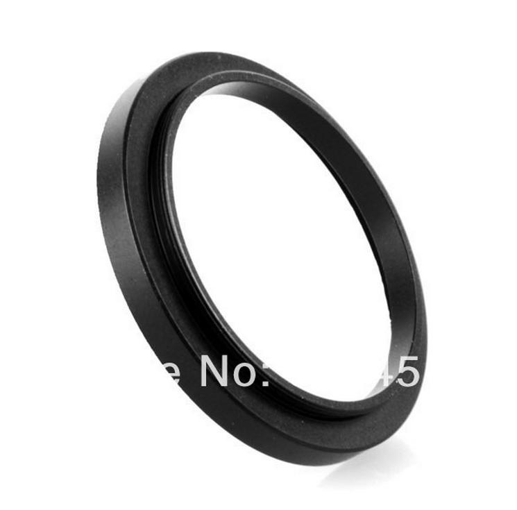NEW 50mm-52mm BLACK Aluminum metal selling 50-52mm 50 to 52 50mm to 52mm Step Up Ring Filter Adapter HOT Wholesale!