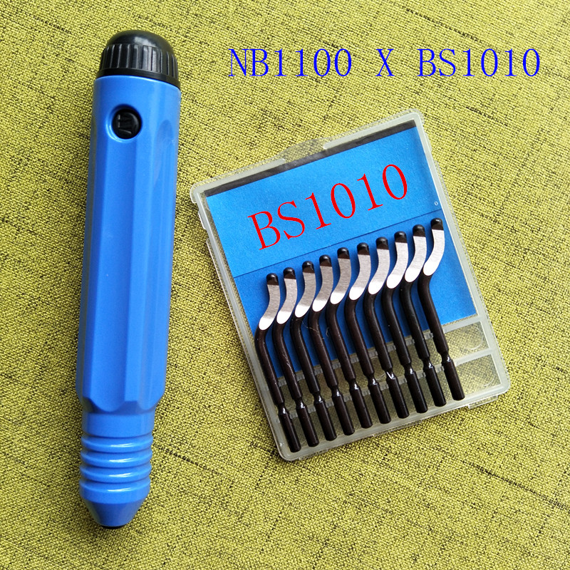 High quality deburring cutter head, scraper edge cutter, BS1010 trimming device, deburring bayonet, NB1100, NG1000, RB1000 high quality trim blade bs1010 scraper bar deburring trimming tool eo2000 combination set