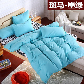 Adult/kids solid bedding set  Nineteen colors king queen twin size bed