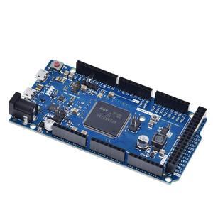 Image 4 - Offizielle Kompatibel DURCH R3 Bord SAM3X8E 32 bit ARM Cortex M3 / Mega2560 R3 Duemilanove 2013 Für Arduino Due Bord mit Kabel