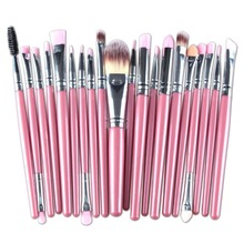 20pcs Makeup Brushes Graduated Color  Diamond Handle Soft Bristle Foundation Powder Brush For Women Makeup soft bristle makeup brush 15pcs