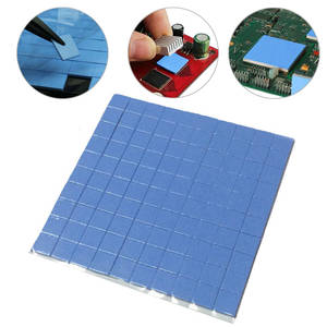 CPU Heatsink GPU Silicone-Pad Conductive Cooling 10mm--10mm--1mm 100pcs High-Quality