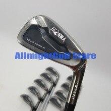 Clubs de Golf HONMA TW737P fers de Golf noirs 3 11.SW fers clubs Graphite/acier arbre R/S flex avec couvre chef