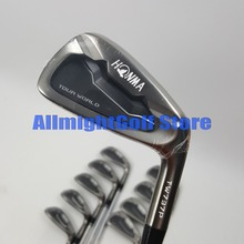 Golf clubs HONMA TW737P Black Golf irons 3 11.SW Irons clubs Graphite / Steel shaft R/S flex with Headcover