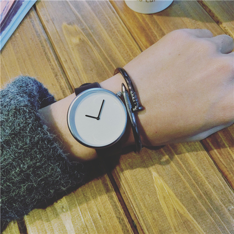 BAJEETA Simple Style Women Watch Luxury Brand Leather Quartz Men Wristwatch Ladies New Fashion Casual Watches Dropshipping Clock leather men women watches fresh new style woman wristwatch