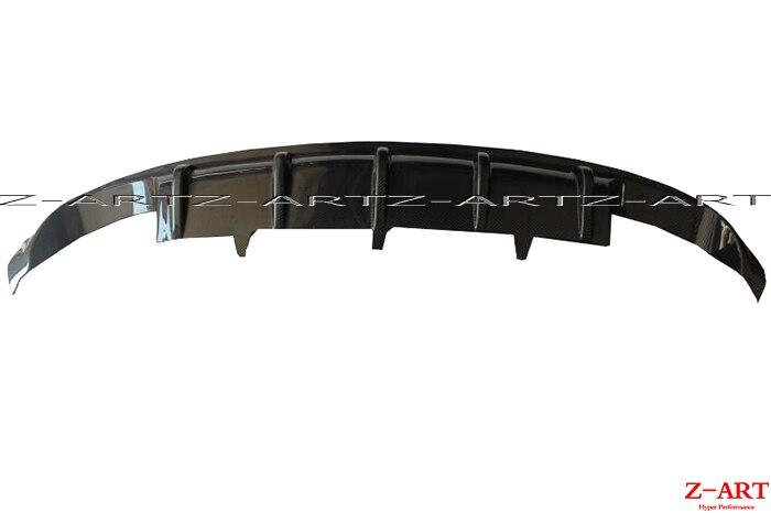 OEM Réel en fiber de carbone diffuseur arrière pour Audi A7 S-ligne S7 2012-2015 en fiber de carbone arrière chin pour Audi S7 en fiber de carbone lèvre arrière