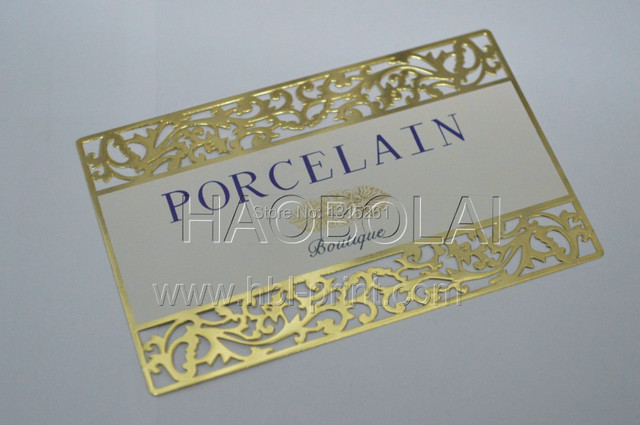 Personalized gold metal business cards free shipment in business personalized gold metal business cards free shipment colourmoves