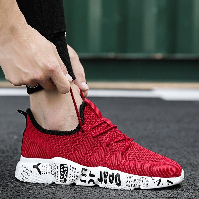 46 Tricô Sneakers Respirável Flats Unidade de