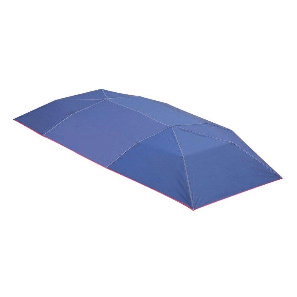 Demi automatique auvent tente bâche de voiture en plein air étanche plié Portable voiture auvent couverture Anti-UV soleil abri voiture toit tente nouveau