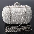 Free shipping 2015 new ladies pearl evening bag clutch bag handbag shoulder bag diagonal package bridesmaid bridal ring package
